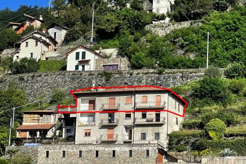 Appartamento Dongo Vista Lago Como - evidenziato