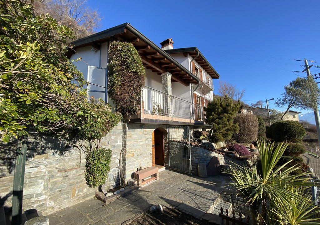 Villa Indipendente Vista Lago Como San Siro -esterno