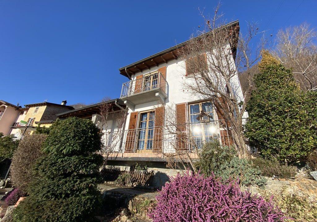 Villa Indipendente Vista Lago Como San Siro