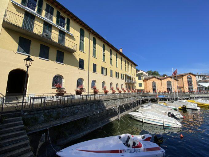 Lago Como Cremia Appartamento direttamente a lago - facciata