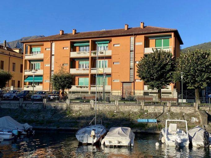 Lago Como Gravedona ed Uniti Appartamento Fronte Lago - facciata